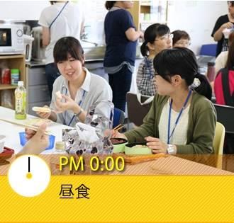 PM 0:00 昼食