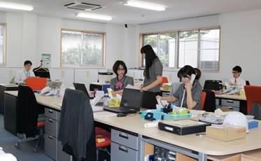 社員が快適に働ける環境づくりにも力を入れています。