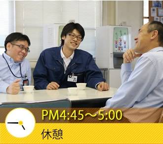 PM4:45〜5:00 休憩