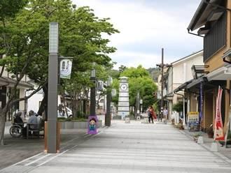 ショッピング、歴史、自然が楽しめるコンパクトな街