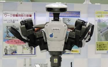 将来が期待されるヒト型ロボットを用いたシステム