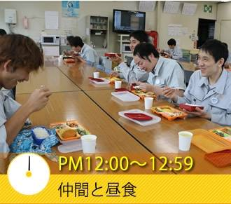 PM12:00〜12:59 仲間と昼食