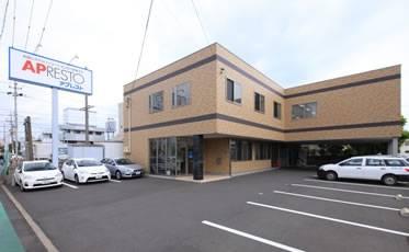 東名静岡I.Cや主要幹線に近く、アクセス良好の静岡本社