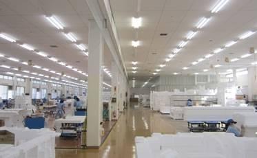 清潔で広々とした模型工場(組立)。働きやすい環境で仕事のパフォーマンスをアップ!